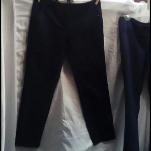 Tommy Hilfiger navy capris pants